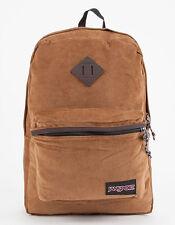 Jansport Fine Wale Corduroy Tan Brown Superbreak FX Backpack Cord