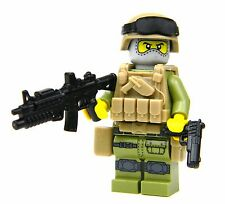 Recon Marine Minifigure (SKU71)made with real LEGO® minifigure
