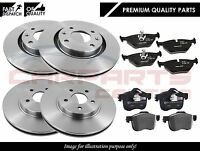 FOR LANDROVER DISCOVERY 300 TDI 90-98 FRONT REAR SOLID BRAKE DISCS PADS