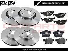 FOR PEUGEOT 407 1.6 1.8 2.0 2004-2011 FRONT & REAR BRAKE DISC DISCS AND PADS SET