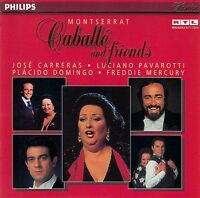 MONTSERRAT CABALLE AND FRIENDS / CD (PHILIPS 456 390-2) - TOP-ZUSTAND