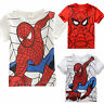 Kids Boy Superhero Spiderman T-Shirt Casual Short Sleeve Tops Shirts Tee Clothes