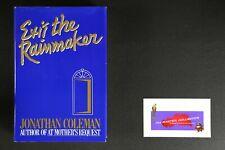 ??EXIT THE RAINMAKER JONATHAN COLEMAN 1989 HARDCOVER??