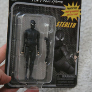 New Spider-Man Stealth Action Figure Far From Home Marvel Suction Cup 4 Inch Z38
