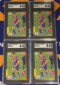 Lot Of (4) 2020-21 Panini Megacracks #430 Pedri FC Barcelona RC Rookie SGC 8.5