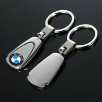 Car Logo Titanium Key Chain Rings Car Keychain Ring Metal Keyrings Gift For BMW