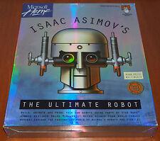 ISAAC ASIMOV'S The Ultimate Robot BIG BOX Microsoft MAC 1993 US Release English
