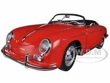 PORSCHE 356A SPEEDSTER EUROPEAN VERSION RED 1/18 MODEL CAR BY AUTOART 77864