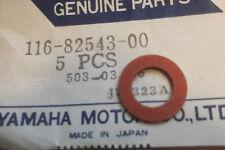 YAMAHA TX750  XT500  XS750  GENUINE NOS NEUTRAL SWITCH GASKET - # 116-82543-00