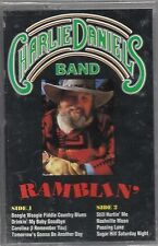 Charlie Daniels Band RAMBLIN'  (Cassette 1990) CBS SPECIAL Products BRAND NEW!