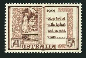 Australia 342 block/4,MNH.Michel 315. Christmas 1961.Book of Hours,15th Century.