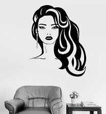 Vinyl Wall Decal Beauty Hairdressing Salon Hair Stylist Stickers (1037ig)