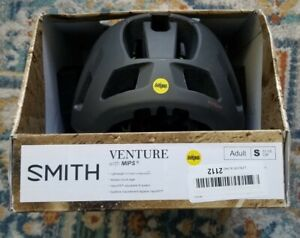 New Original Smith Optics Venture Mips Helmet - Matte Gray- Small