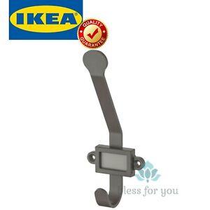 IKEA KARTOTEK Bathroom Hook Gray with Label