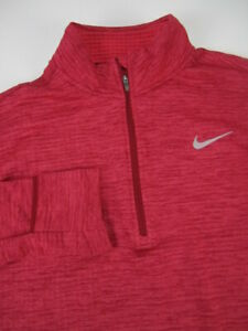 Womens Large Nike Therma Sphere Element 1/4 zip pullover sweater 855521