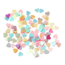 10g Mixed Tiny 3mm Heart Sequins Lovely Colour  shaker cards Decoration