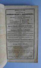 Gilbert's Clergyman's Almanack for 1828