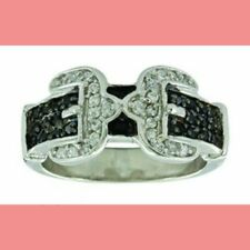Montana Silversmith Double Buckle Ring Size 7 NEW