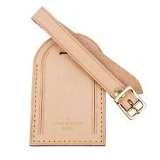 Louis Vuitton Luggage Tag Vachetta w/ Sunburst New