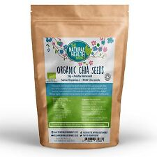 Organic Raw Chia Seeds 1 kg * Omega 3 and Nutrient rich * Diet * Free Delivery