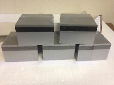 500 Silver PVC Cards - HiCo Mag Stripe 3 Track - CR80 .30 Mil for ID Printers