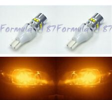 LED Light 50W 921 Amber Orange Two Bulbs Back Up Reverse Replacement Lamp OE