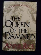 The Queen of the Damned by Anne Rice Bk 3 The Vampire Chronicles 1988 Hardcover