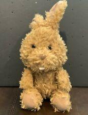 Build a Bear Buddies Curly Brown Bunny Rabbit Smallfrys Plush Doll Toy Stuffed 7