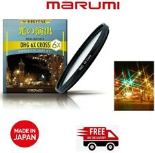 Marumi 77mm DHG 6x Star Cross Filter DHG77STAR6 (UK Stock)