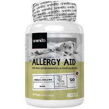 More details for animigo allergy aid 120 for dogs | support for allergies, immune & skin health
