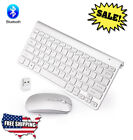 Wireless Keyboard And Mouse Combo Set For Apple iMac And PC 2.4G Mini Size Slim