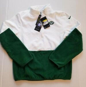 New York Jets Nike Pullover womens Green Therma NEW Jacket size Small MSRP $70