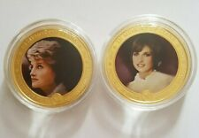 More details for 2x in memory of diana princess of wales commemorative 2011 dated $1 coins