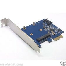 Mini PCI-E SSD 7Pin SATA 3.0 52Pin mSATA Combo PCI-E PCI Express Card 6.0Gbps