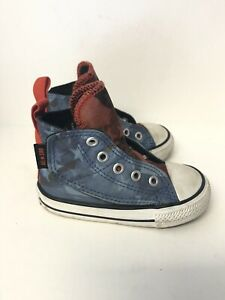 Converse Infant Size 5 All Star High Top American  Red White Blue