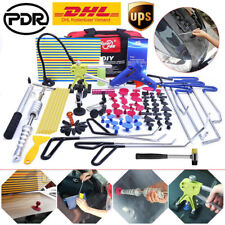 Paintless Dent Repair PDR Tools Push Rods Hail Puller Lifter Hammer Tail Kits