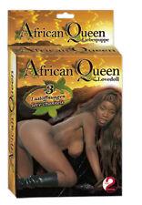 Aufblasbare African Queen schwarz Frau Gummipuppe Liebespuppe Scherzartikel doll
