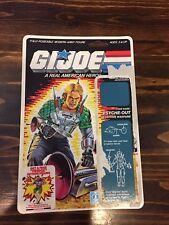 Vintage GI Joe 1987 Psyche-Out Full File Cardback!