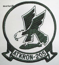 US.Navy `ATKRON-205` Squadron Cloth Badge / Patch (S1)