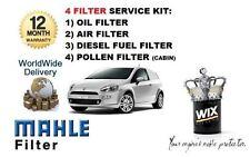 für Fiat Grande Punto 1.9MJTD 2006- > Service Kit ÖL- LUFT- KRAFTSTOFF-