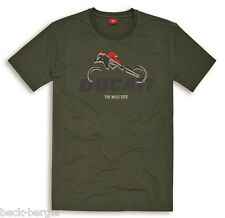 Ducati Graphic Art Enduro Multistrada short-Sleeved Olive New