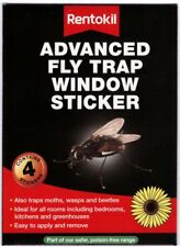 Rentokil Advanced Window Sticker Fly Trap (pack 4) FW35