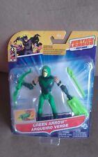 "Justice League Action Green Arrow 4.5"" figure Cartoon Network Mattel"