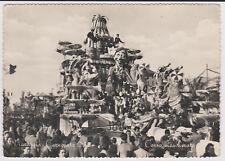 VIAREGGIO LUCCA CARRO DI CARNEVALE < UN PAESANO AL VARIETA' > 1952 BELLA !