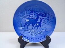 1965 Bing and Grondahl B & G Christmas Plate I Skoven for Jul Mint Condition