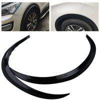 2pcs Car Wheel Wheel Eyebrow Protector Lip Strip Arch Guard Trim Fender Flare