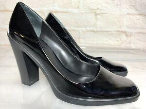NINE WEST Ellerslie Leather Pumps Heels Size 10 #22356
