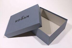 """SCATOLA CONFEZIONE LUSSO - GIFT BOX """"HOGAN"""" SHOES ORIGINALE (36x 25 x 13 CM)"""