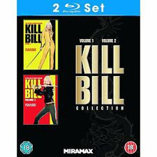 Kill Bill Volume 1 & 2 Collection Bluray Box Set Region B BRAND NEW SEALED