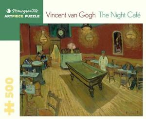 Vincent Van Gogh: The Night Cafe 500 Piece - Jigsaw Puzzle